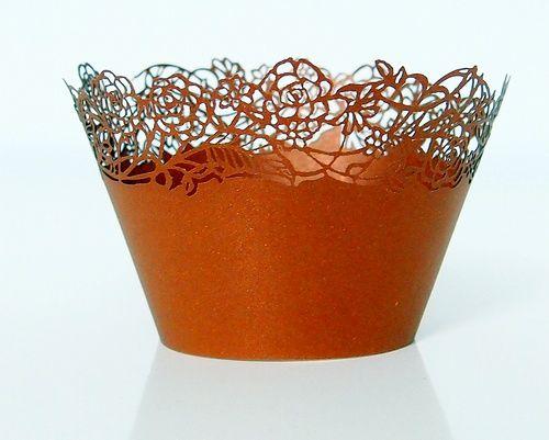 Košíček na muffin, cup cake - zlatá - 12ks