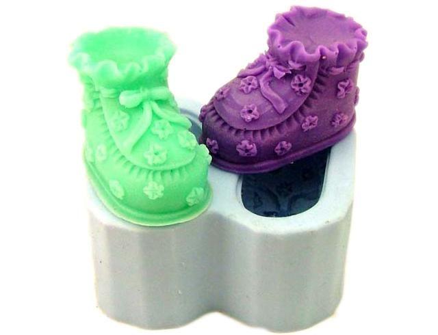 Silikonová formička - dětské botičky