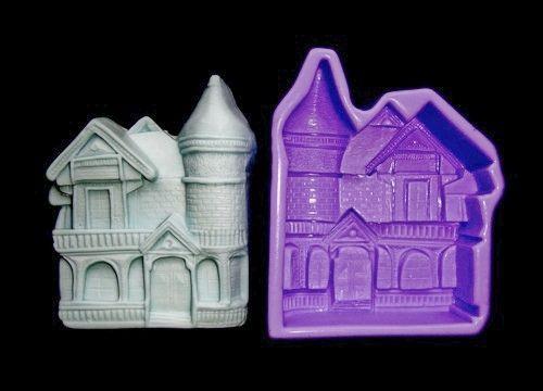 Silikonová formička - dům