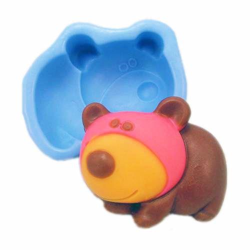Silikonová formička - medvídek