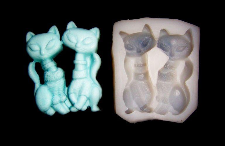 Silikonová formička - kočičky