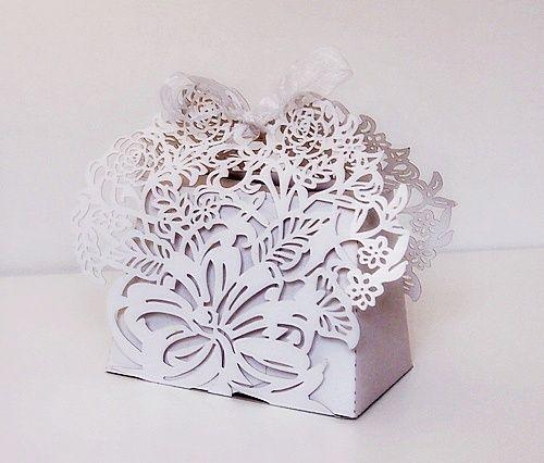 Krabička na výslužku - bílá